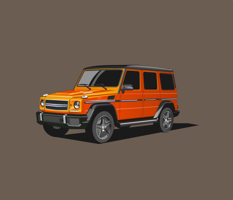 Orange Mercy Car, Ready adventu - ozant291 | ello