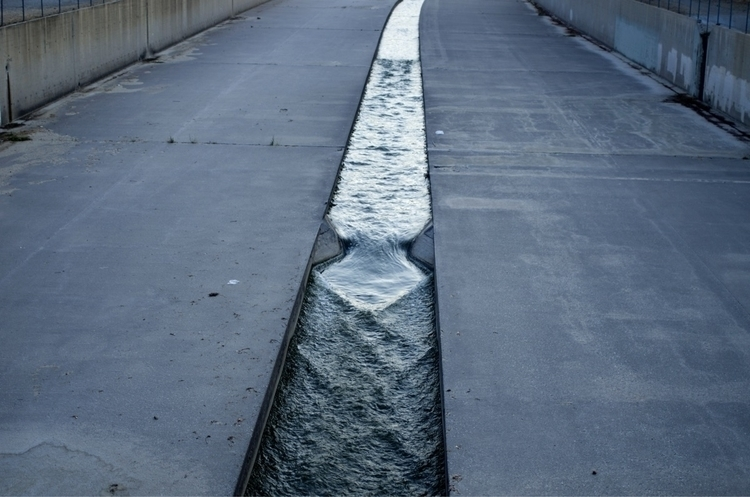 LA River trapped glory - walkingLA - talyo | ello