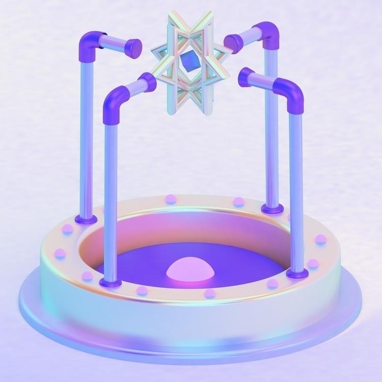 Morph machine  - C4D, artdaily, digital - alan-tolentino | ello
