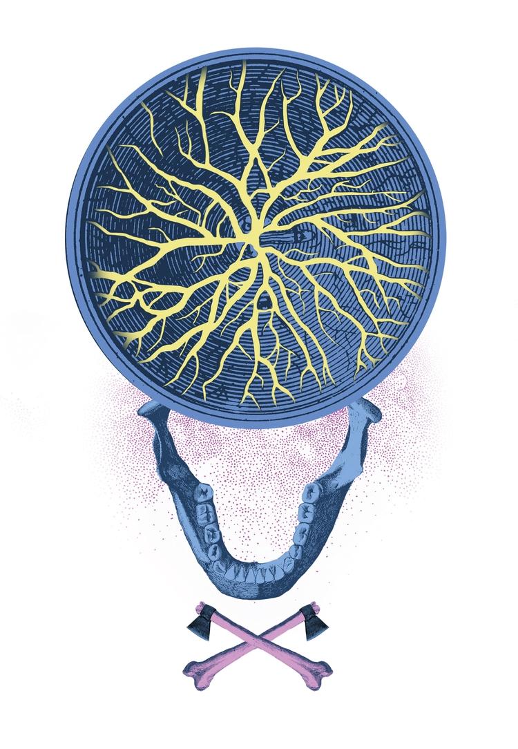 illustration Genius Loci Festiv - victorsoma | ello