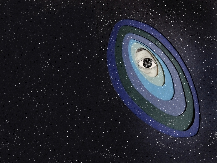 creative eye watching universe - soniaalins | ello