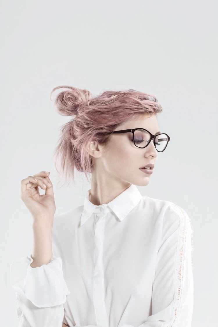 Glasses Girl Portrait - girl, photography - paulearly | ello