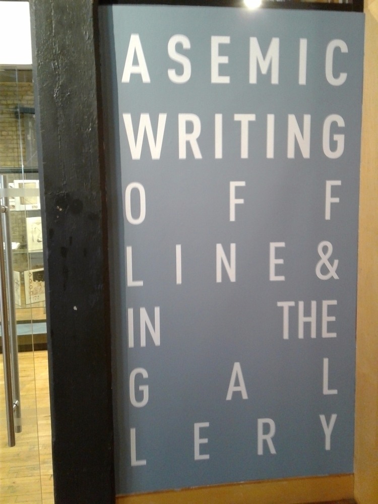 Asemic Writing: Offline Gallery - asemicwriter | ello