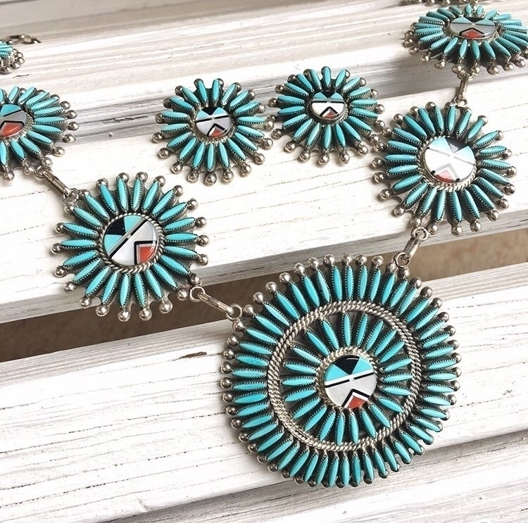 Umm piece bees knees! Zuni need - turquoisecanyon | ello