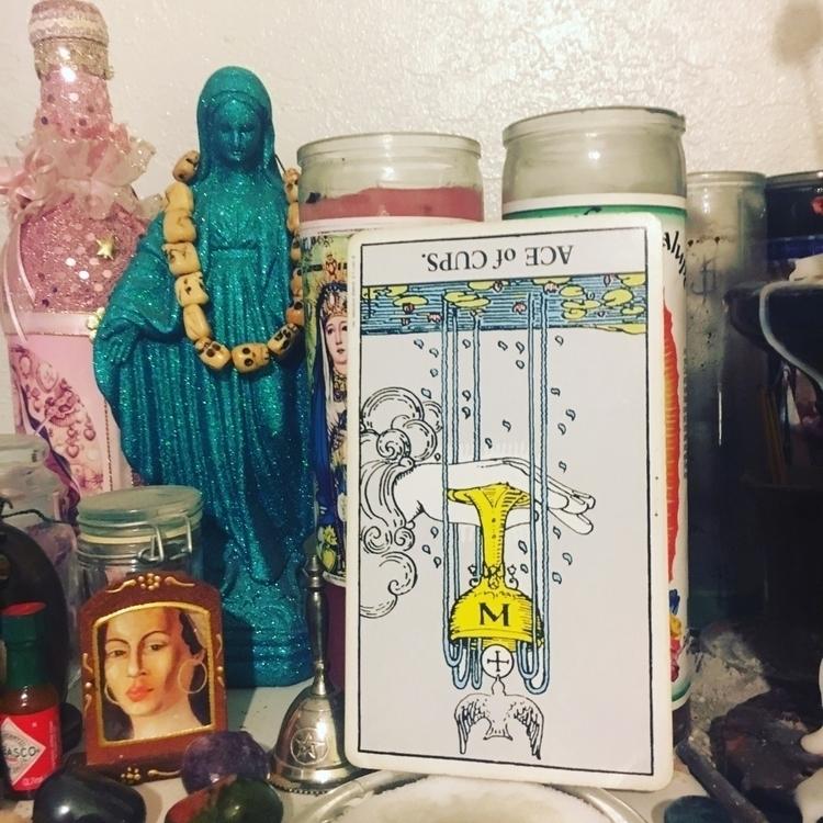 ace cups inverted. time care - tarot - natalieraymond | ello