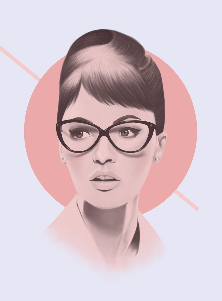 Retro - fashion, style, illustration - polilovi | ello