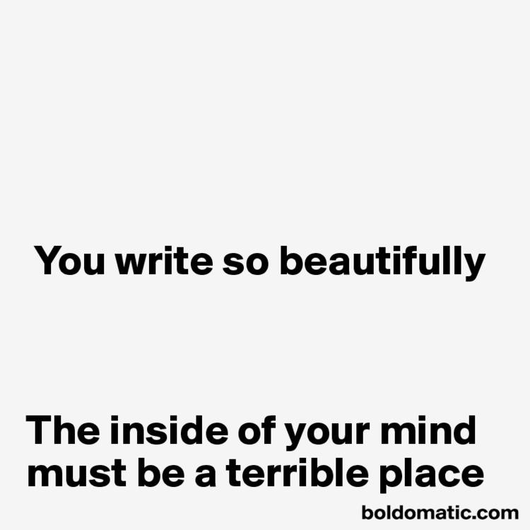 write write. shameless, inappro - boldomatic | ello