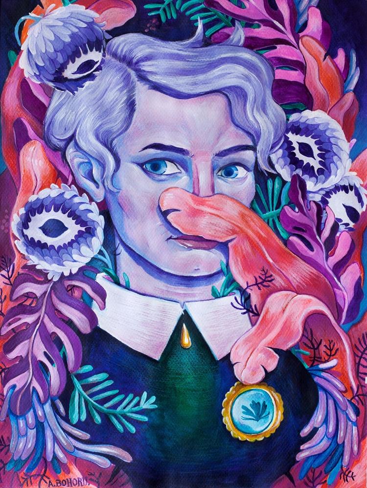 Ioana - portrait friend 50 70 c - alinabo | ello