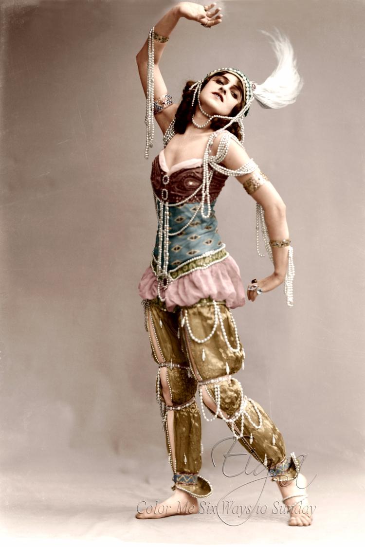Vera Fokina ballet Scheherazade - colormesixwaystosunday | ello