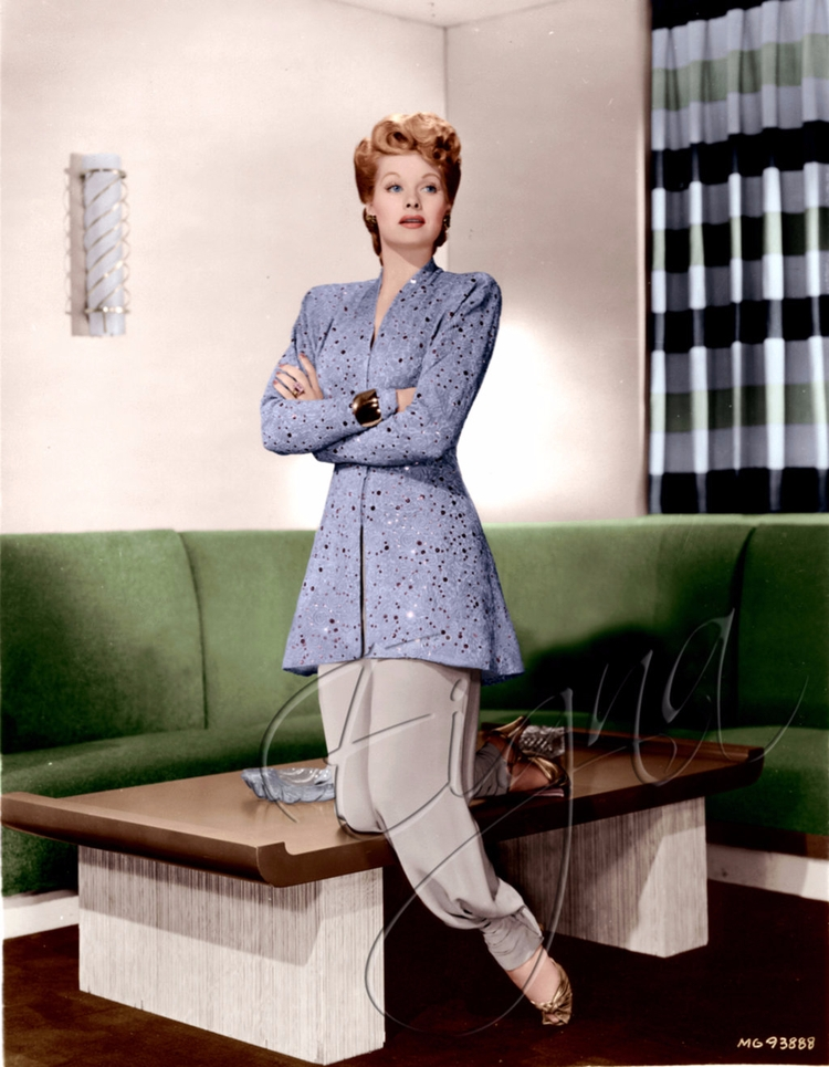 Lucille Ball Foot (1943 - colormesixwaystosunday | ello