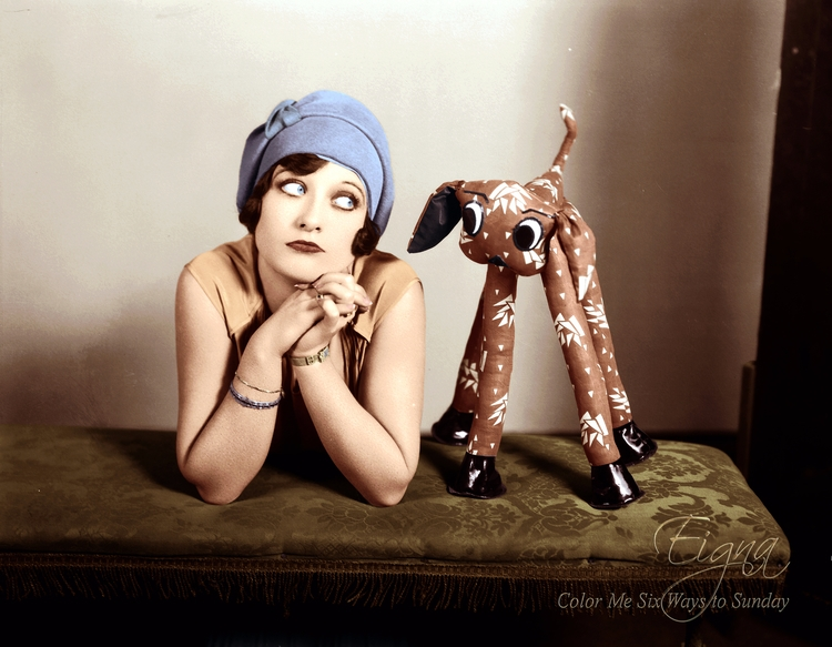 Flapper Joan Crawford - colormesixwaystosunday | ello