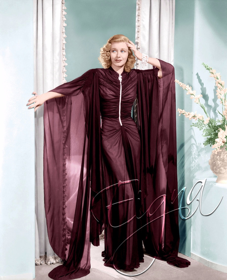Ginger Rogers Dance (1937 - colormesixwaystosunday | ello