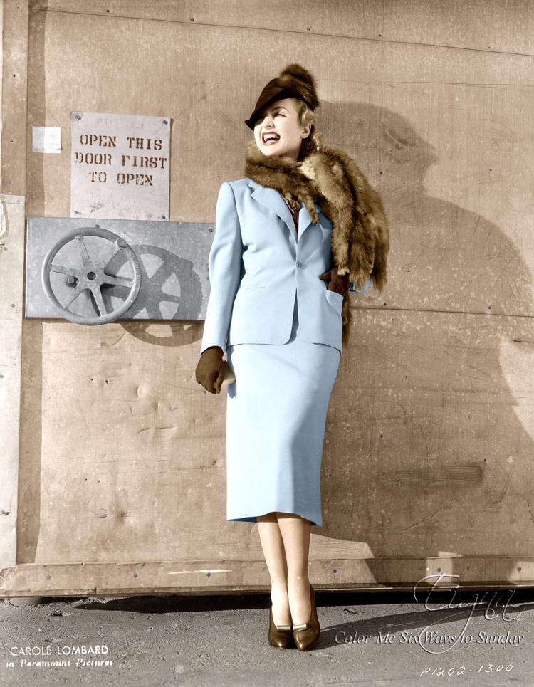 Carole Lombard - colormesixwaystosunday | ello