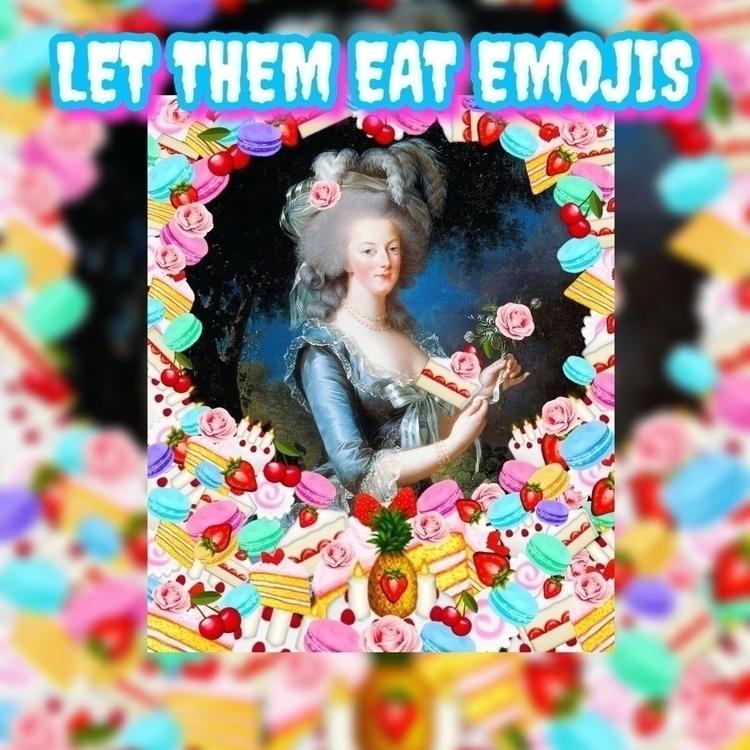 EAT EMOJIS ART SWAP LUCKY STROK - vonbeckereroticart | ello