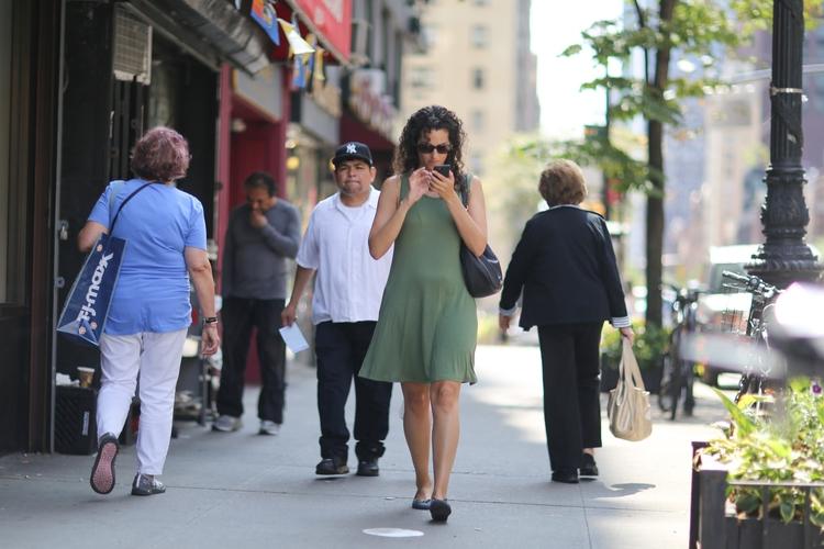 **Nose Phone** woman walking 1s - kevinrubin | ello