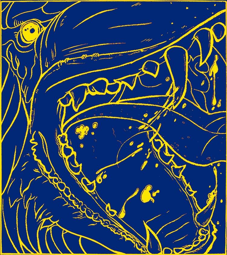 illustration - Serigraphie, Dog - simciment | ello