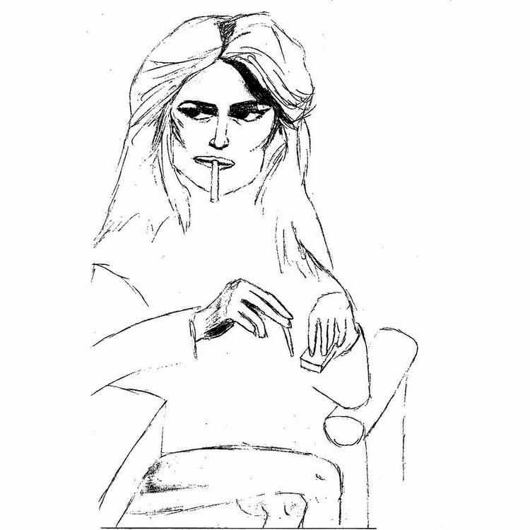 Femme fatale  - illustration, femmefatale - armaia | ello
