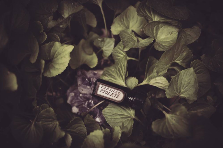 Crushed Violets perfume unexpec - forstrangewomen | ello