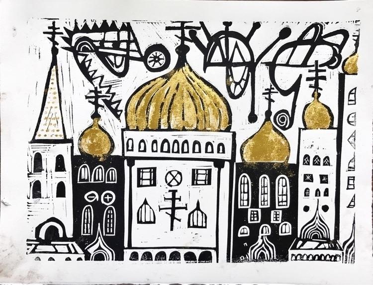 Russian churches book - art, artists - rostislavromanov | ello