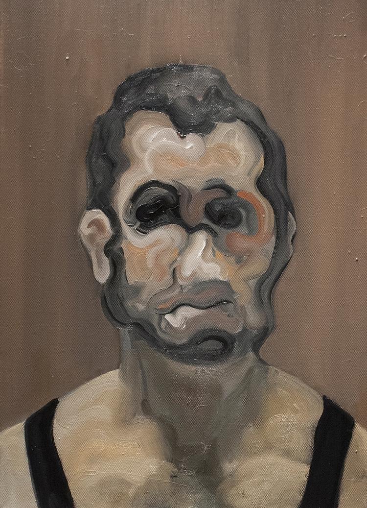 Vault Portrait) / Oil Canvas 56 - armandocabba | ello