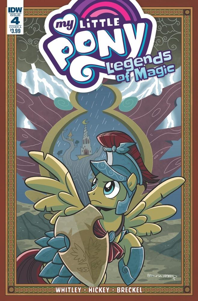 Pony: Legends Magic Review lege - comicbuzz   ello