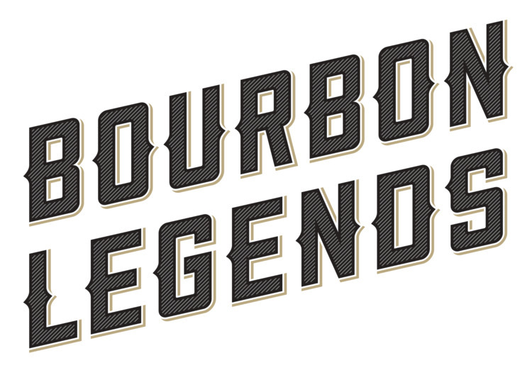 Bourbon Legends logo Jim Beam - robclarketype | ello