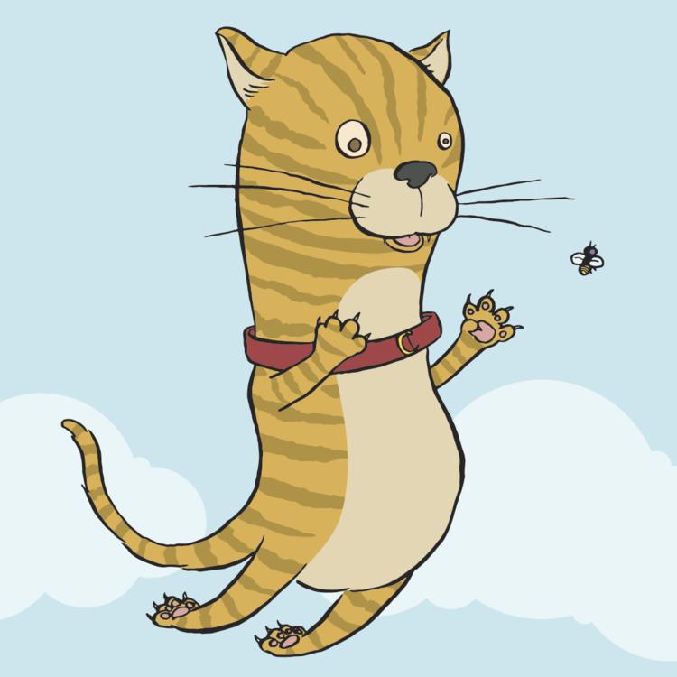 tough week break draw kitty - kidlitart - jseckman | ello