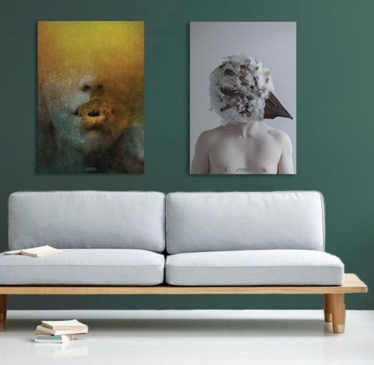 Aluminium art prints AXEL VAN D - novamartem | ello