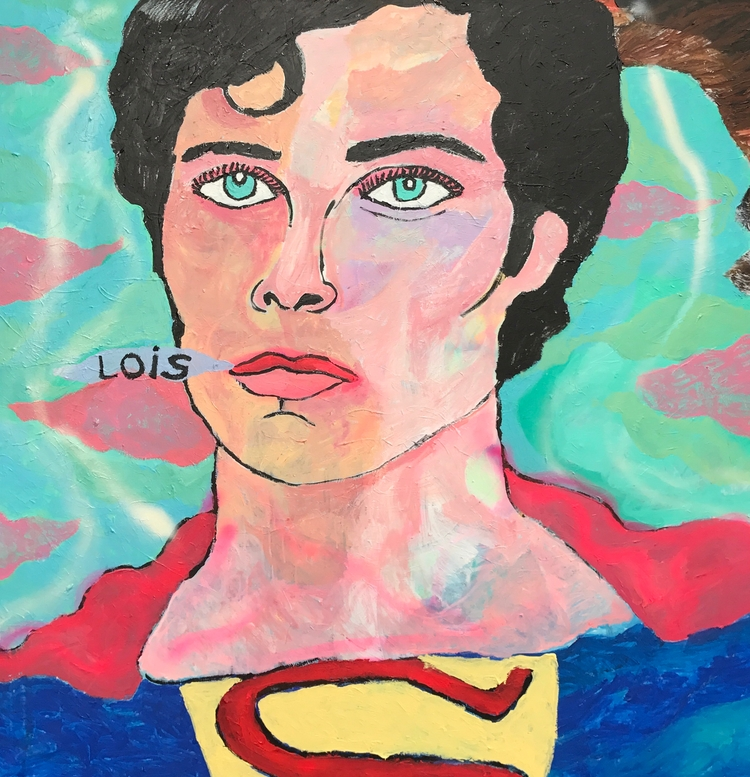 Christopher Reeves 60x60in - wayneello1 | ello