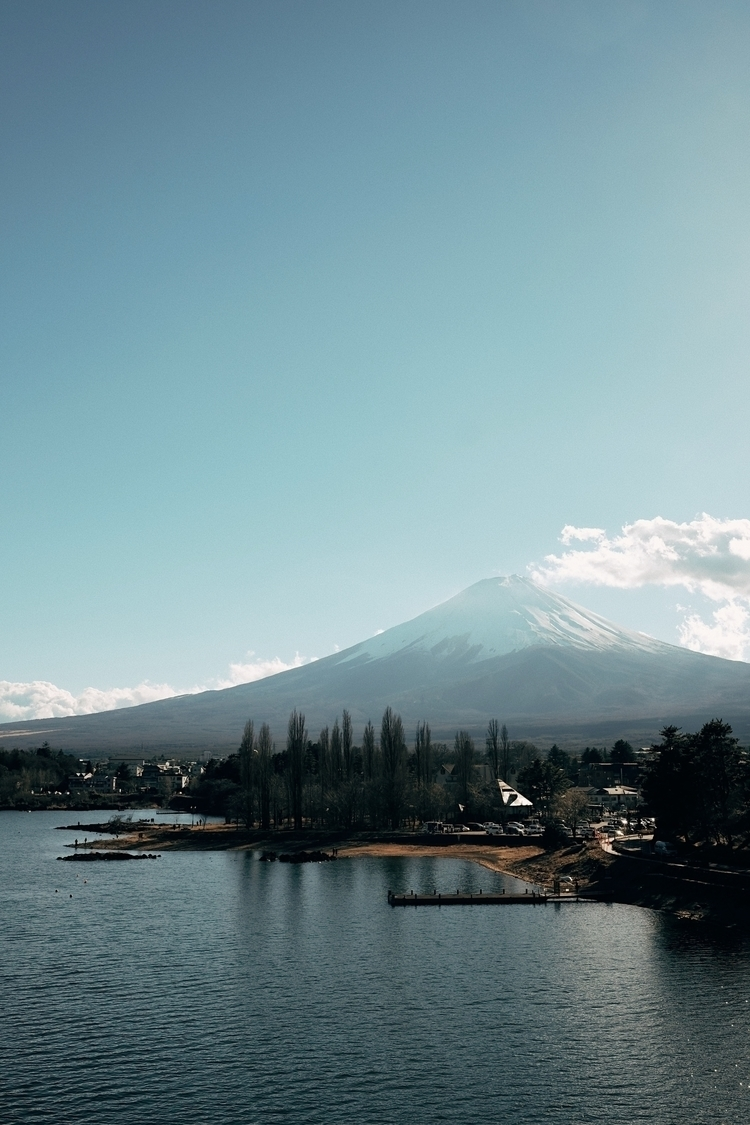 Mt. Fuji - mountain, landscape, snow - humanator   ello