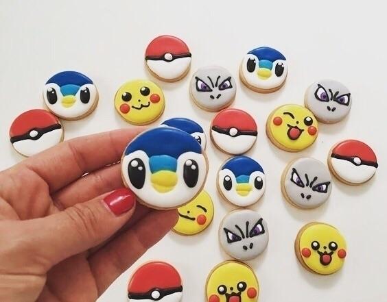 Pokemon - galletas, galletasdecoradas - galletea | ello