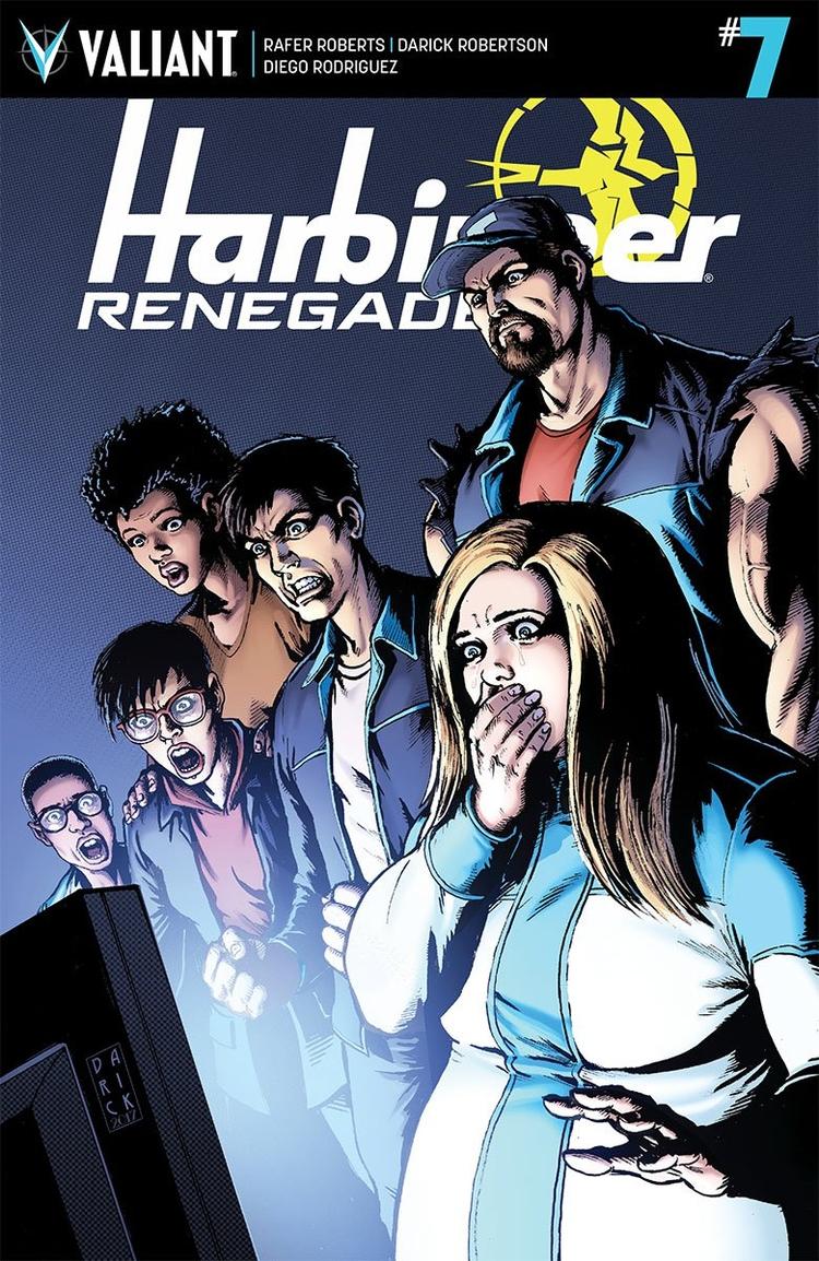 Harbinger Renegade Preview Movi - comicbuzz | ello