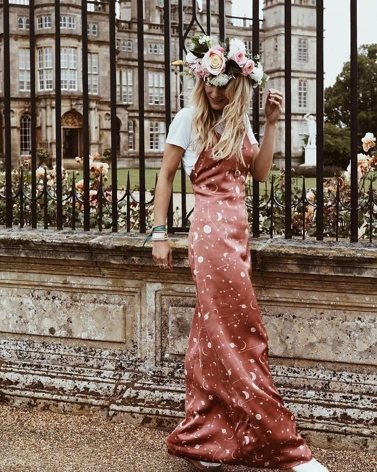 Rock Perfect Maxi Dress Blogger - thecoolhour | ello