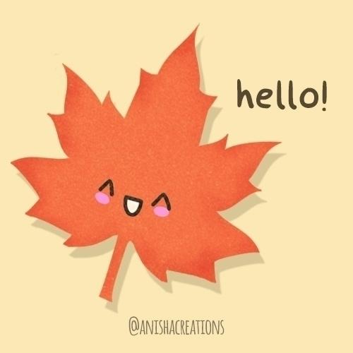 September - cute, illustration, design - anishacreations | ello