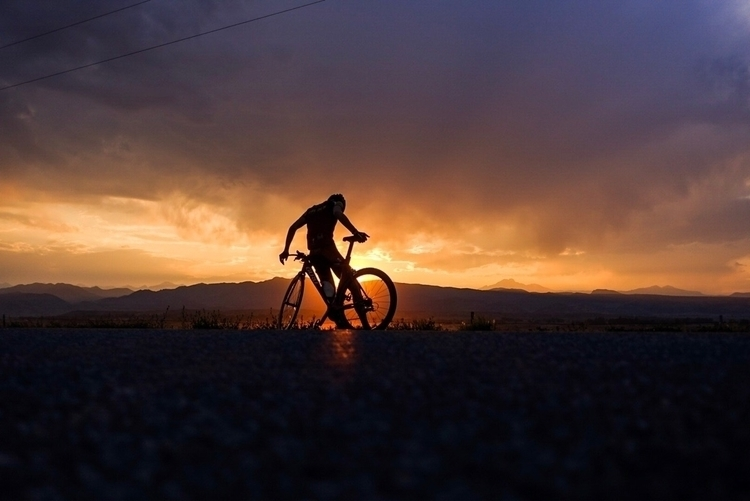 intervals time enjoy sunset - ellocycling - galen1973 | ello
