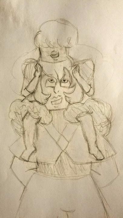 friends - stevenuniverse, sketch - valentinevanity | ello