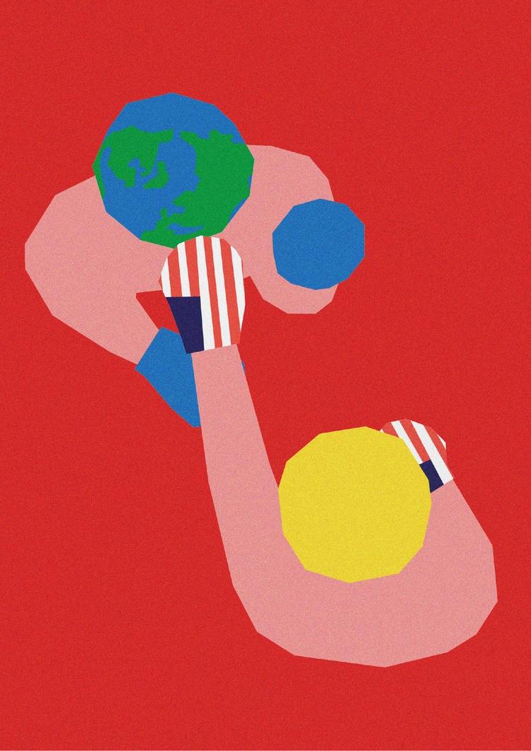 Fight, Digital Illustration - illustration - sebastiankoenig | ello