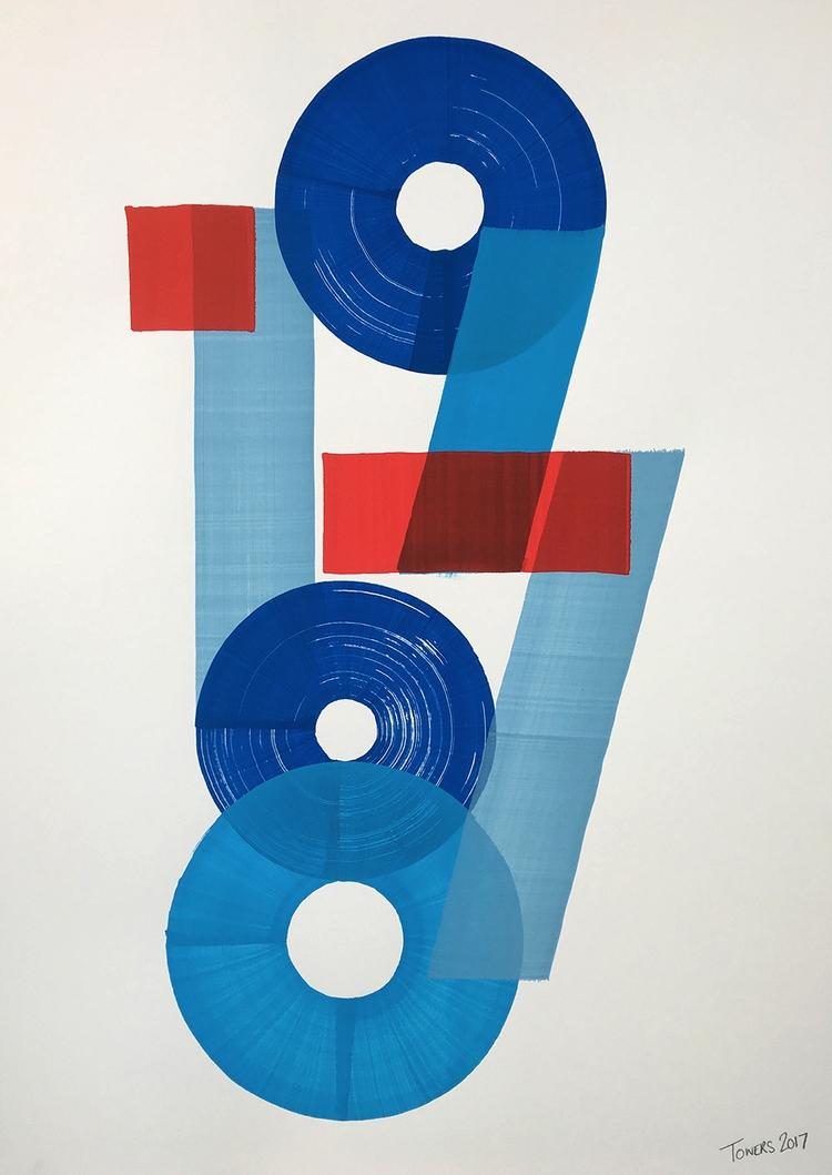 Detail - typography, handlettering - t_o_w_e_r_s | ello