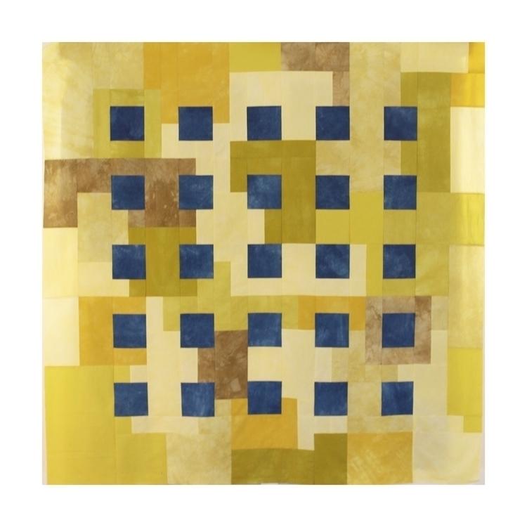 Ode Square Hand dyed fabri - modernquilt - entropyalwayswins | ello