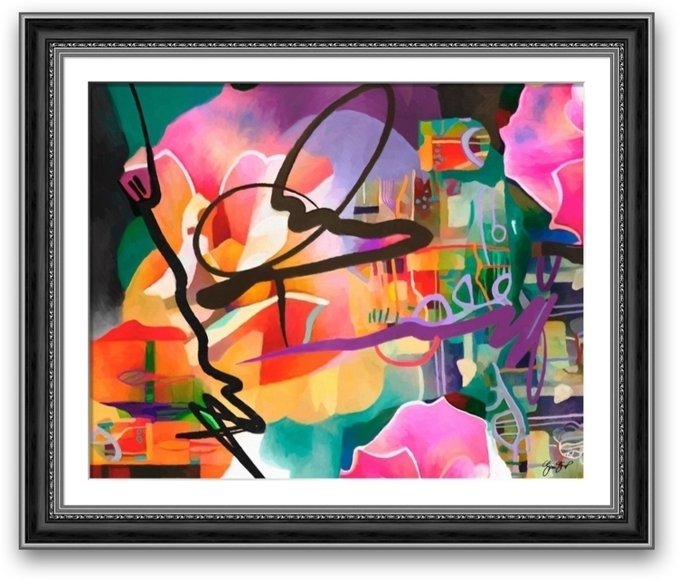Boundless Vista -$300 USD - abstract - ginastartup | ello