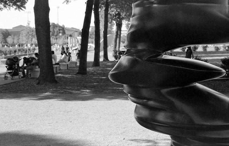 Faced - Minneapolis, sculpture, garden - mikeylinehan | ello