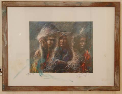 4 Cardinarls Framed Print ~ Art - 1windowgallery | ello