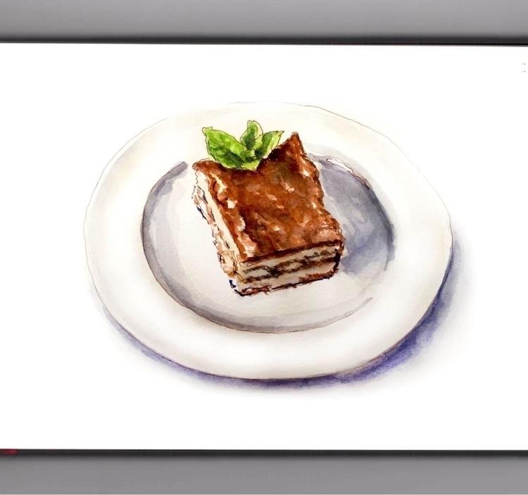- Day 27 Favorite Dinner - WorldWatercolorGroup - doodlewash | ello