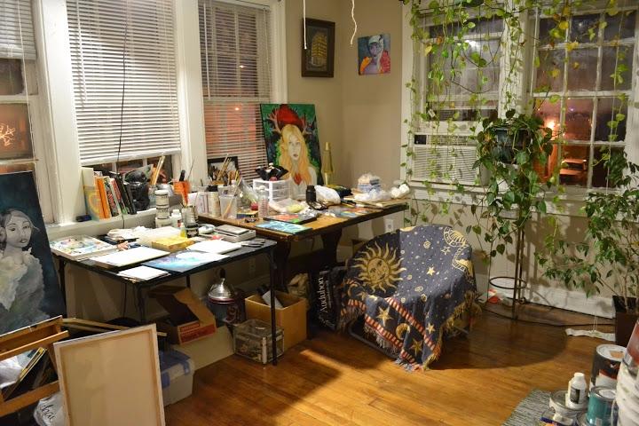 pic living ... ivy - artstudio, PaseoArtsDistrict - amandashelton   ello