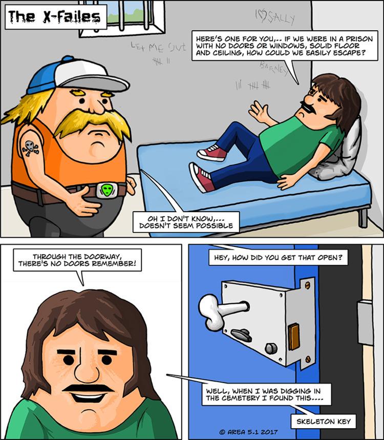 jail, comic, cartoon, prison - rickatkinson | ello