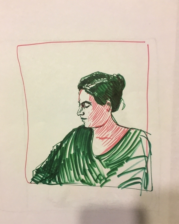 marker, sketch, drawing, color - yuliavirko | ello