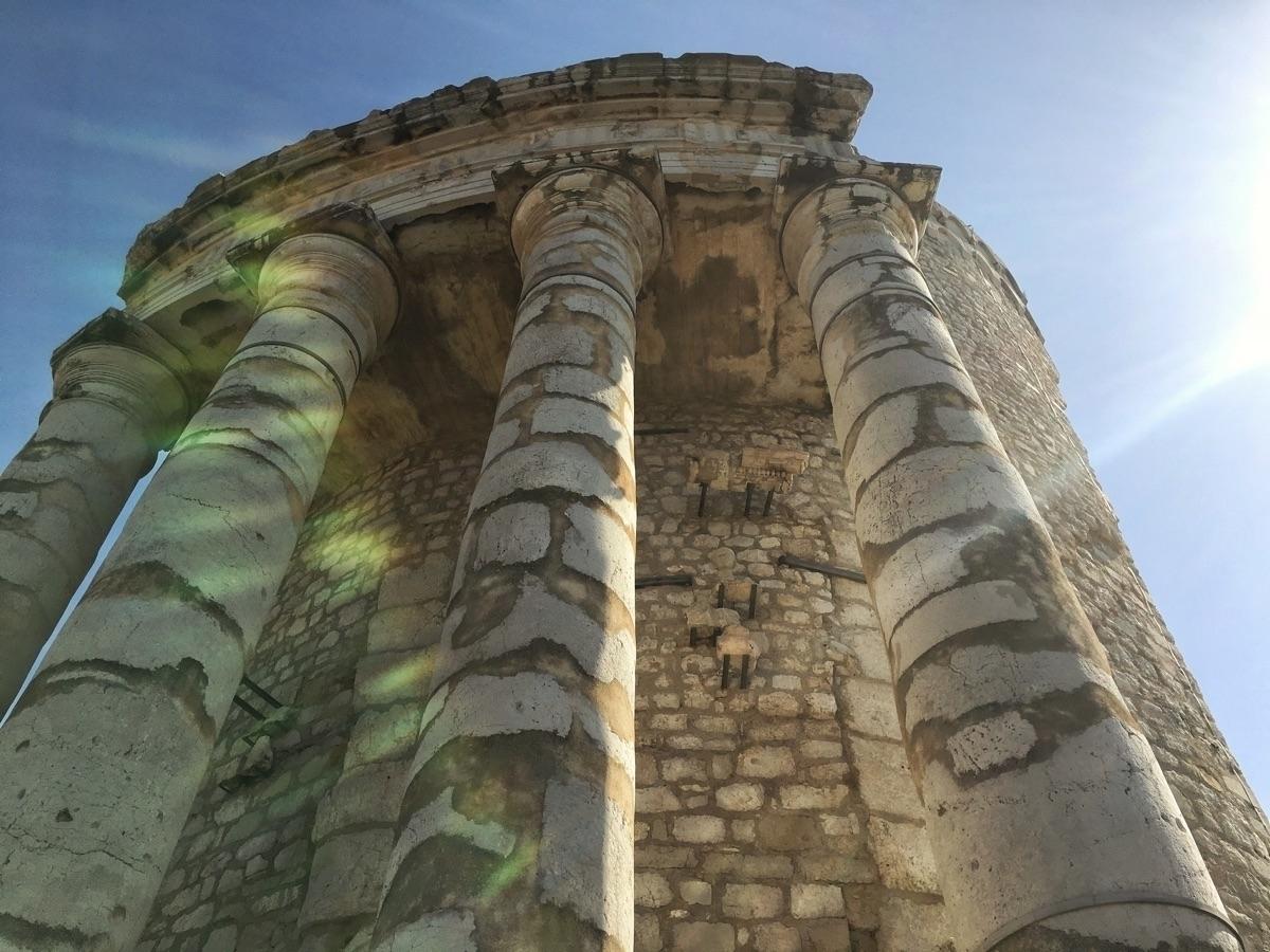 Augustus Monument, La Turbie, F - davidhawkinsweeks | ello