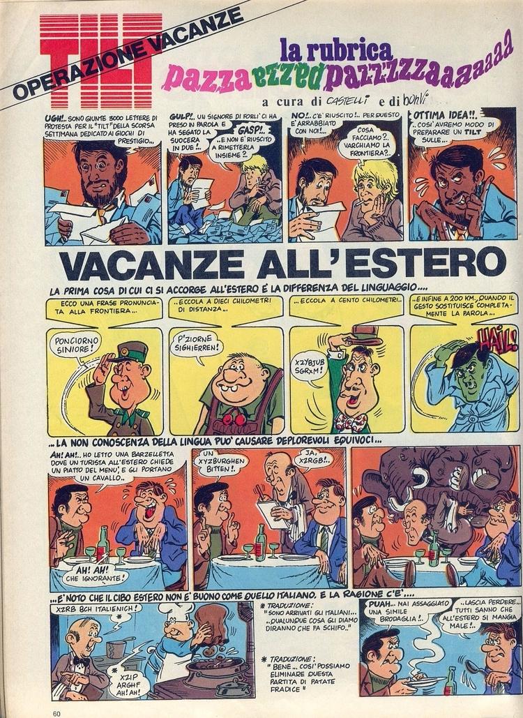[Vacanze (di Bonvi Castelli - corrierino | ello