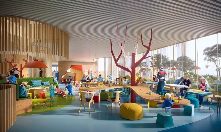 Copenhagen Hospital - architecture - valosalo   ello