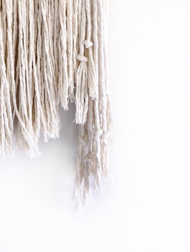 Texture - handmade, macrame, interiors - roundnine9 | ello